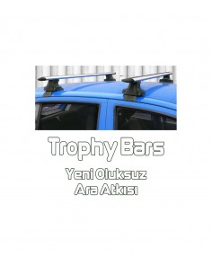 Q3 Roof Rack-Cross Bars Set Aluminum Travel Set For Flush Roof Rails