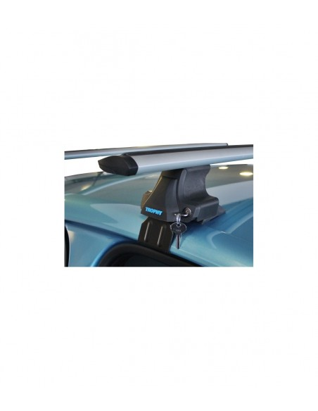 Audi A4 Avant Roof Rack-Cross Bars Set Aluminum Travel Set For Flush Roof Rails