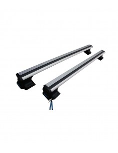 Vitara Roof Rack-Cross Bars Set Aluminum Travel Set For Flush Roof Rails
